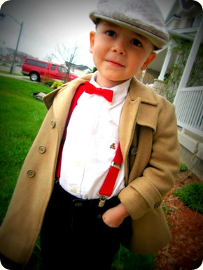 Dapper Little Man