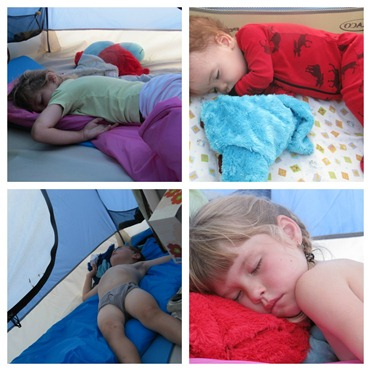 Bible Camp Sleeping