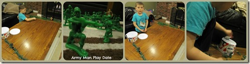 Army Men Play Date